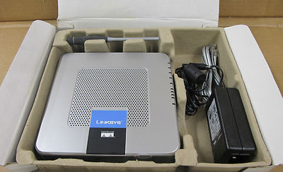 Linksys WAG54GP2 Wireless-G ADSL Router with 2 Phone Ports
