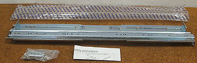 NEW - Dynaslide Generic Sliding Rack Mount Server Rails With Assembly Screws