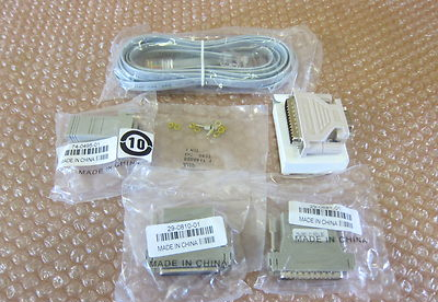 New Genuine Cisco Systems 800-05097-01 Console Cable Connectors Accessory Kit