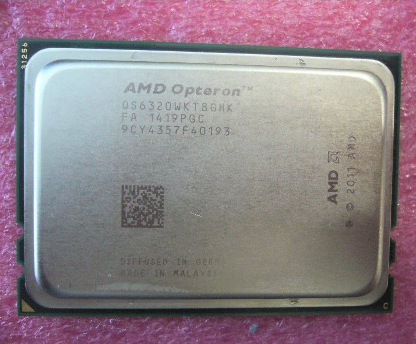 Amd Opteron 6320 16 Core 2 80ghz Os6320wkt8ghk G34 16mb Server Cpu Processor