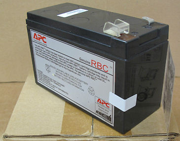 APC RBC2 12V, 7Ah Lead Acid Replacement Battery for UPS 4A0644P15953