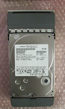 Apple XServe Hitachi 750Gb SATA 3.5 HDS721075KLA330 P/N:0A34192 in hot plug cadd