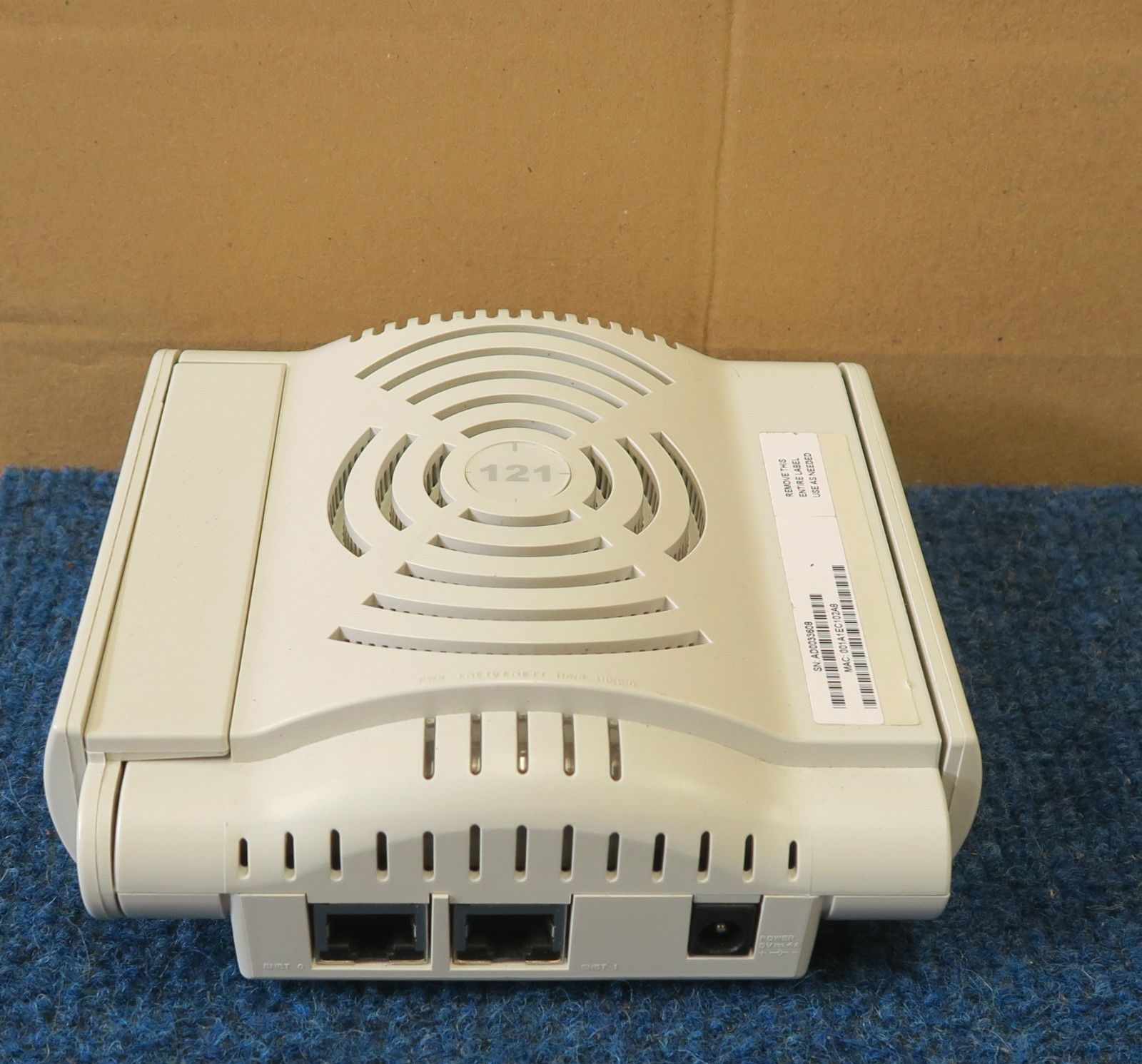 Aruba AP-121 - 802 11n Dual Band PoE Indoor WLAN Wireless Access Point