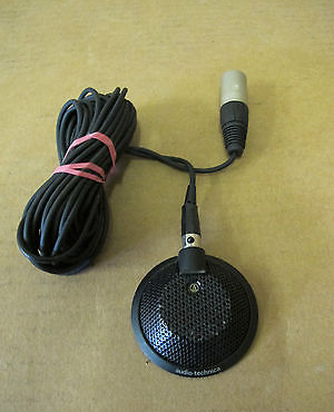 Audio-Technica AT841R Condenser Boundary Effect Conference Microphone Mic