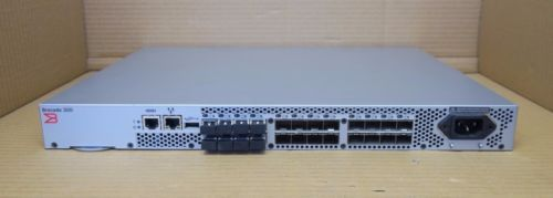 Brocade 320 DL-320-0003 300 24-Port 8GB Fibre Channel SAN Switch 8 Ports Active