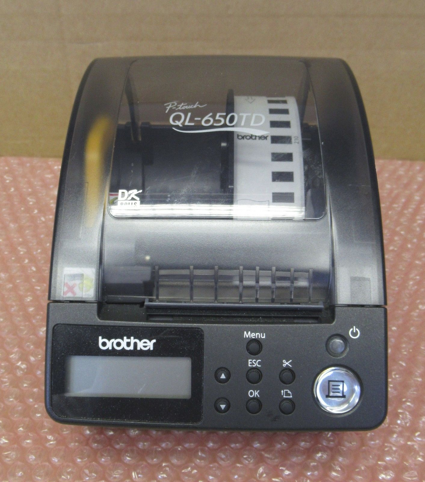 BROTHER P-TOUCH QL-650TD DOWNLOAD DRIVERS