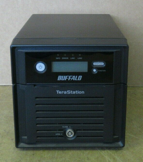 Buffalo Terastation TS-WXL/R1 Network Attached NAS Storage With 2x 1TB HDD