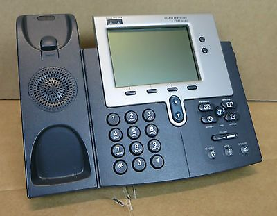 Cisco CP-7940G Unified VoIP IP Business Phone 7900 Series No Handset