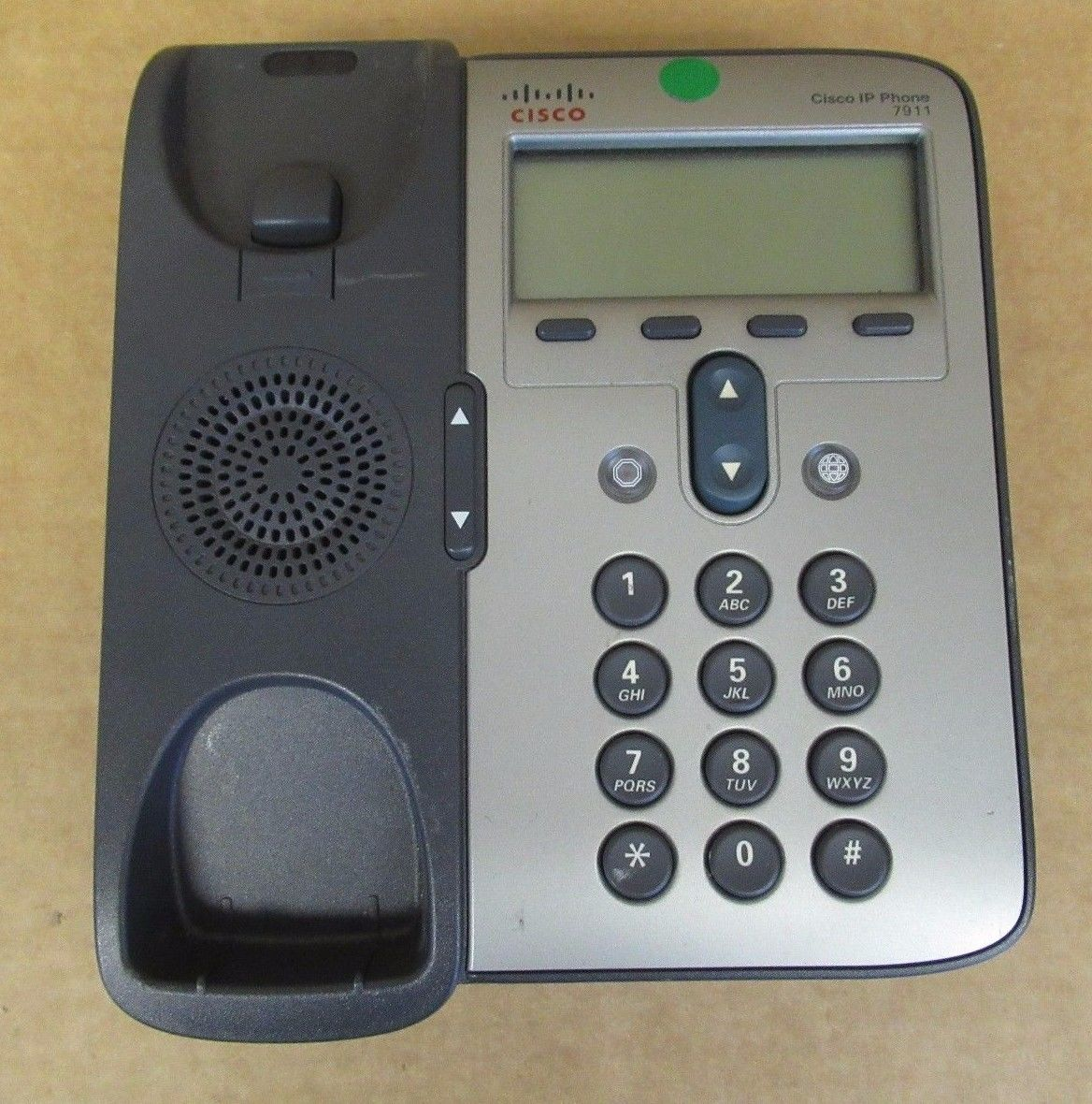 Cisco IP 7911G Business VoIP LAN Wired Office Phone 7900 Dark Grey  68-2779-09