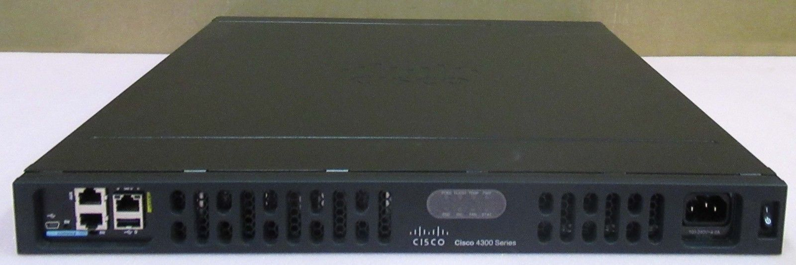 Cisco ISR4331/K9 4000 Router 1U 3-Port Modular Integrated Services Router  (ISR)