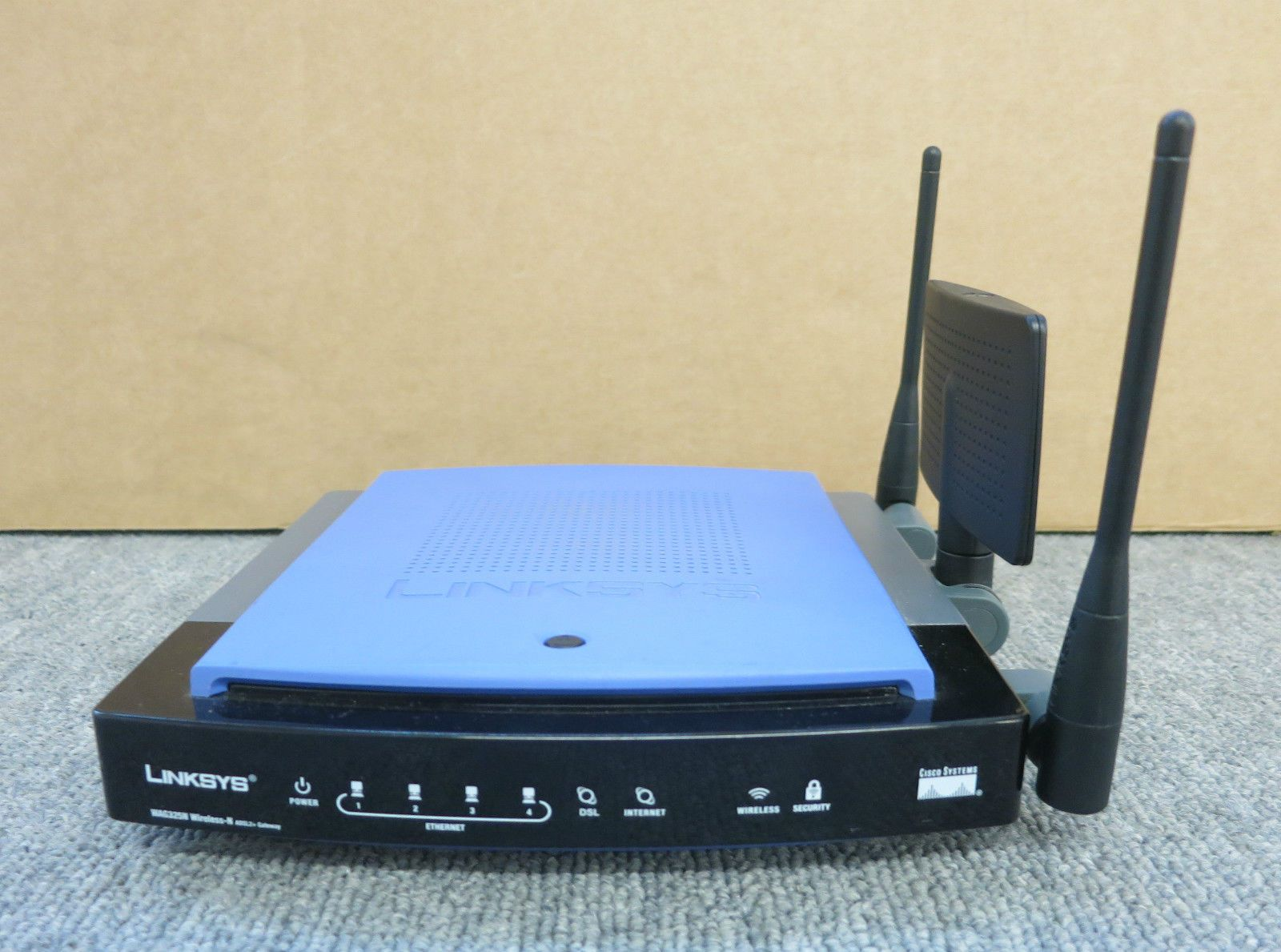 Cisco Linksys WAG325N-ANNEX A Wireless-N VPN ADSL2 Gateway Router