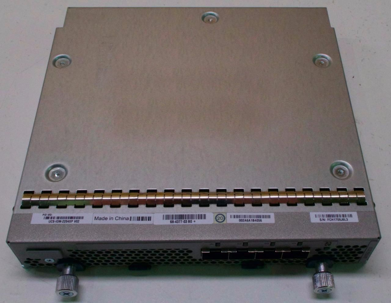 Cisco UCS-IOM-2204XP - Fabric Extender Expansion Module 4 Ports For Blades