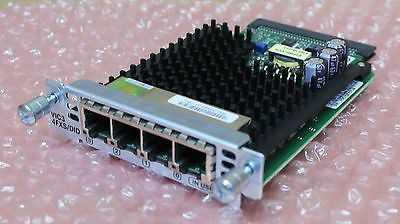 Cisco VIC-4FXS//DID 4 port Voice Interface Card