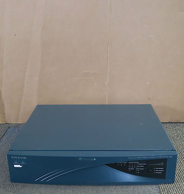 Cisco VPN 3030 Concentrator CVPN3030-NR - 3000 Series 2 x SEP-E  Cards 1 x PSU