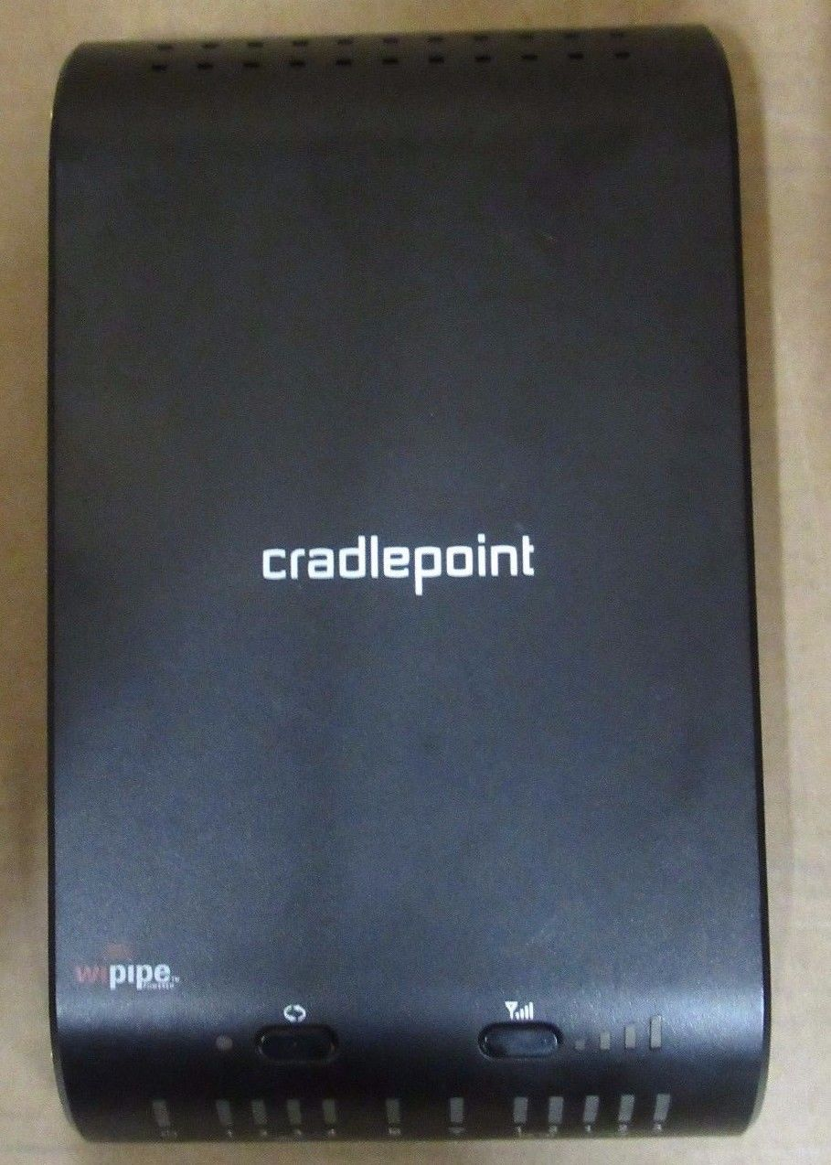 Aerials Cradlepoint 1400 Mobile Mission Critical Broadband Router 10//100//1000