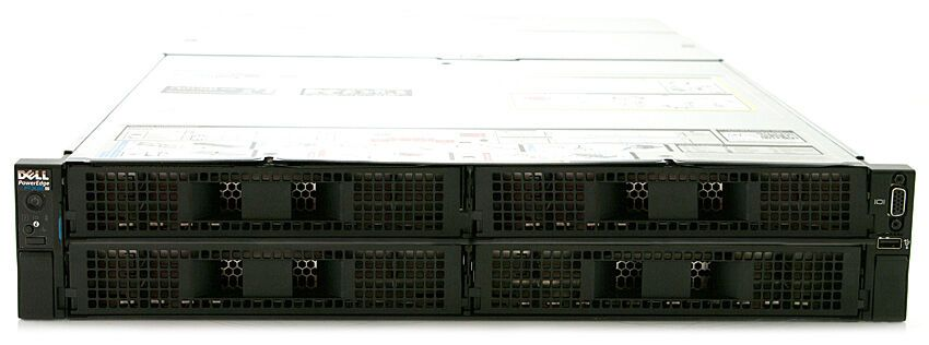 Dell PowerEdge FX2  Rackmount 4-Bay Blade Server Enclosure Chassis