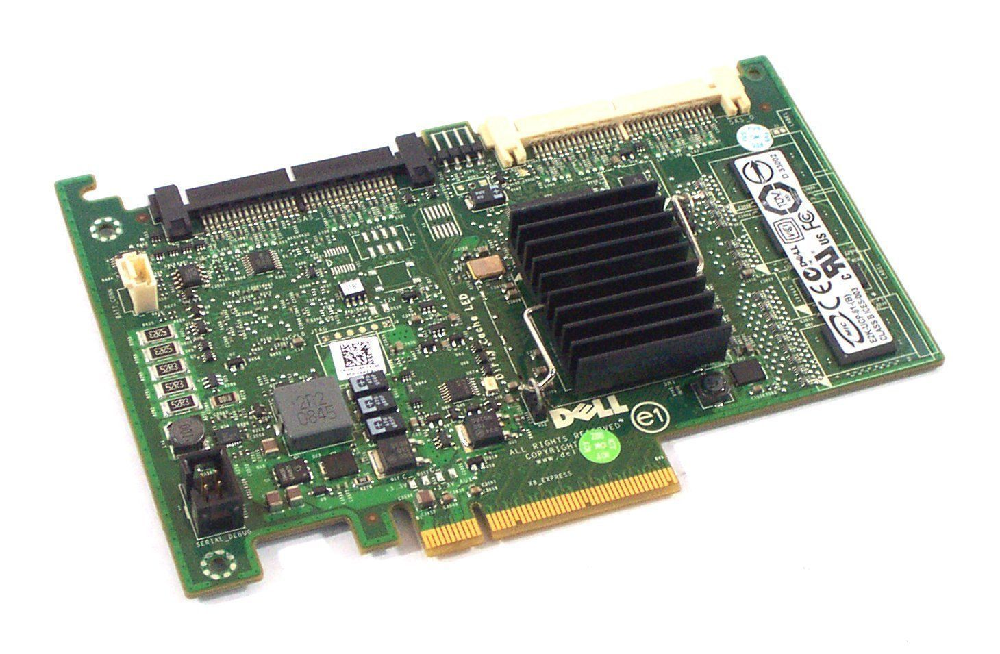 Dell PowerEdge PERC 6/i SAS RAID Controller Card PCI-E H726F 0H726F NEW  SEALED