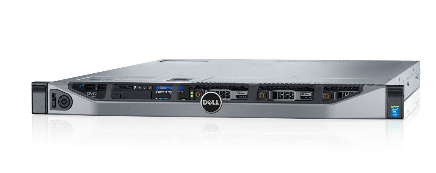 Dell PowerEdge R630 2 x Intel XEON E5-2630 v3 8 Core 2 2GHz 384GB 1U Server