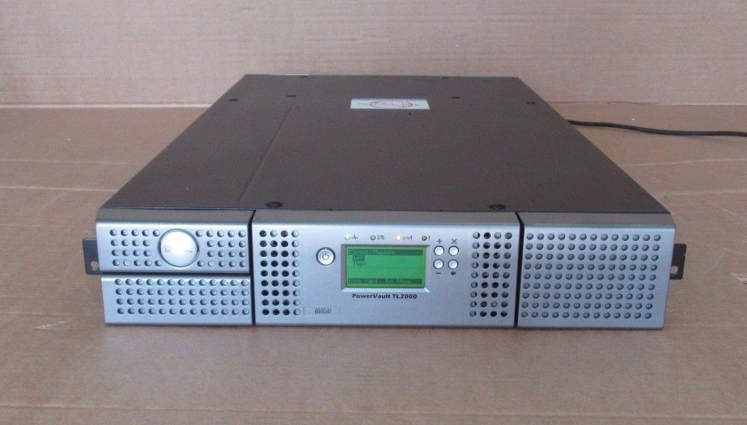 dell powervault tl2000 backup tape library lto 4 hh sas drive 36 72tb rh itinstock com dell powervault tl2000 manual dell tl 2000 manual