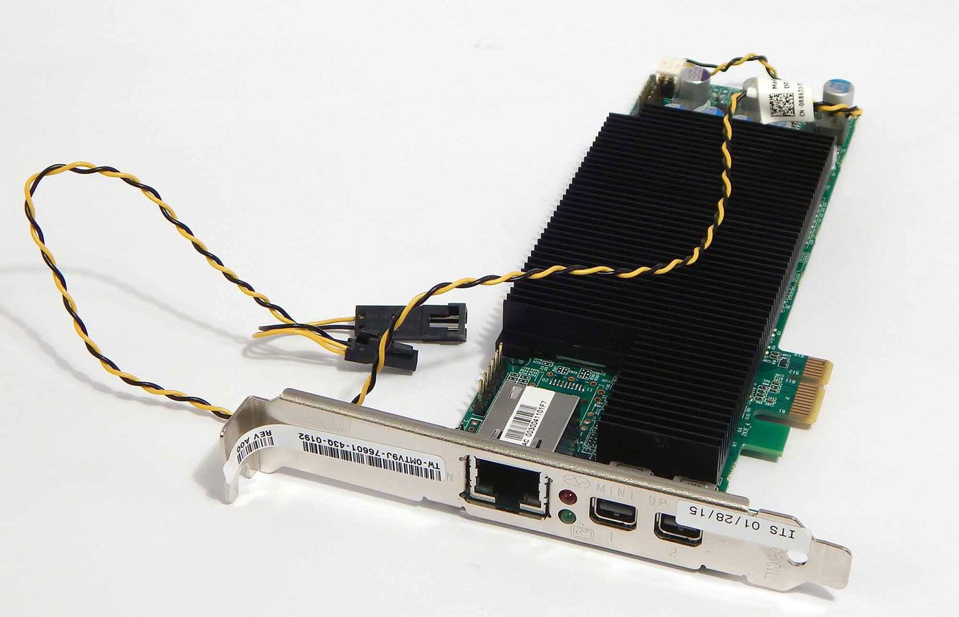Dell Tera2 Teradici PCoIP Pci-e Dual Display Remote Access Host Card MTV9J
