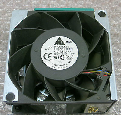 Delta / Fujitsu FFB0812EHE TX300 S2 S3 S4 80x38mm High Speed Fan, A3C40053967