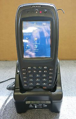 Denso BHT-280B-CE 200 Series Hand Held Computer / Scanner Charger and AC Adapter