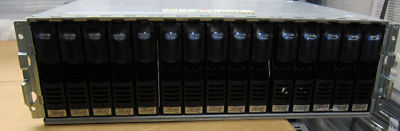 EMC CX-2PDAE with 15 x CX-2G10-300 300GB 10K FC Disks