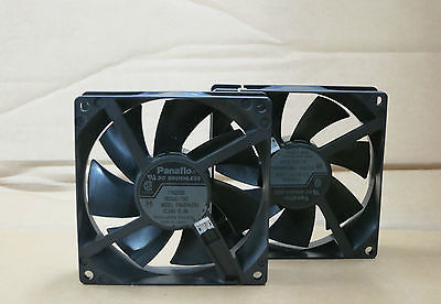Genuine 2 x  Lexmark Optra T-Series Main Fan, Printer Supplies P/n 99A2441