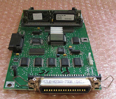 Genuine Lexmark 4026 Optra E Controller Board, Printer Parts, P/n 11A7439