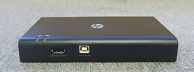 HP HSTNN-S02X 589100-001 589144-001 USB Docking Station - No AC Adapter