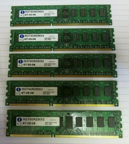 47J0138 MICRON SERVER IBM ECC DIMM 8GB 4RX8 PC3L-8500R-7-11-H0 MEMORY 49Y1417