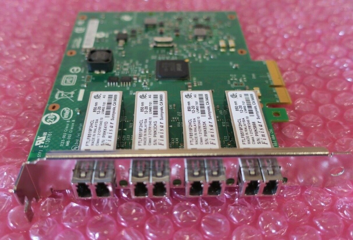 Intel Ethernet Server Adapter I340-F4 PCIE 1000Base-SX