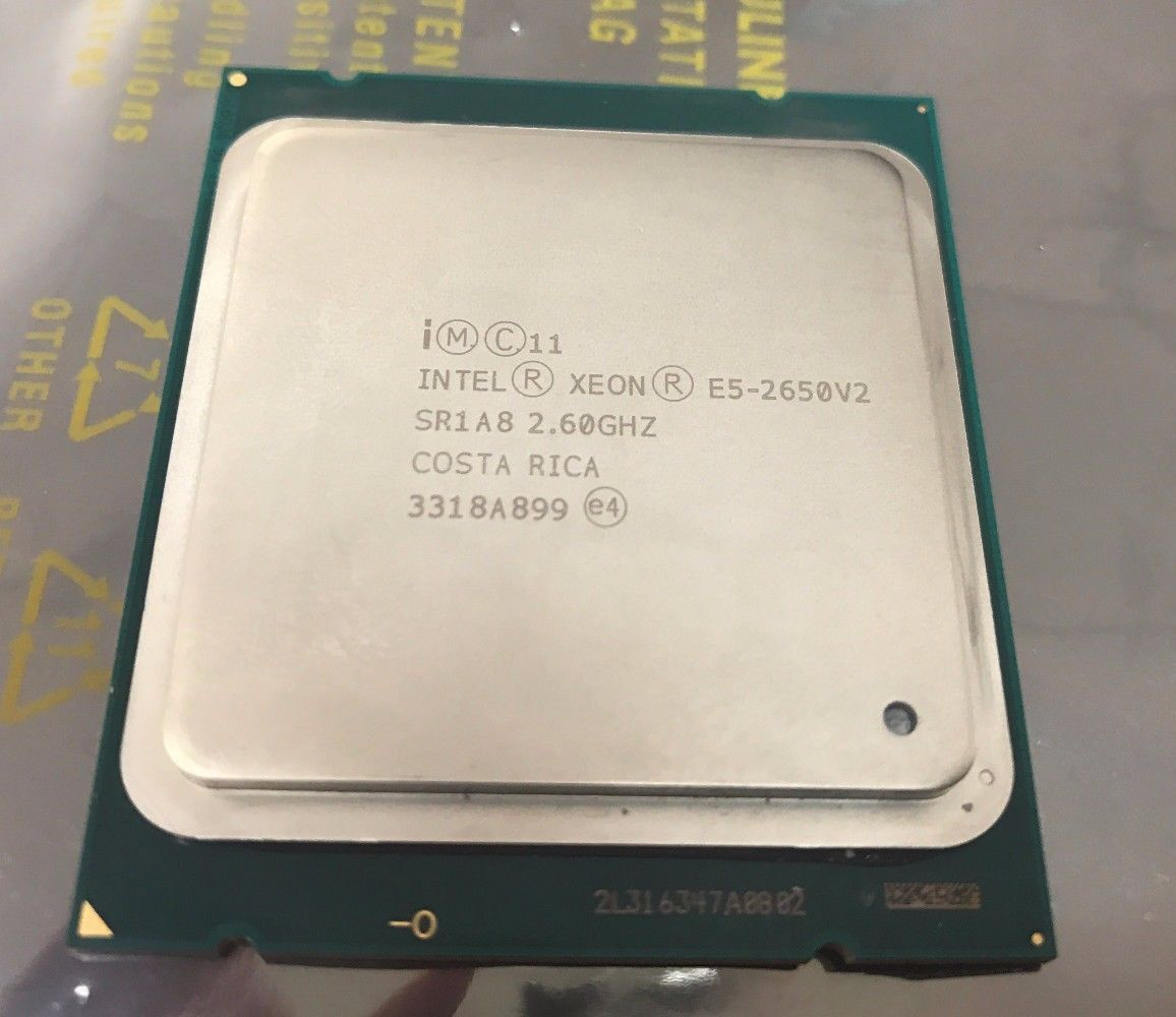 INTEL XEON E5-2650 V2 2 60GHZ 8-CORE 20MB 8GT/s CPU PROCESSOR SR1A8