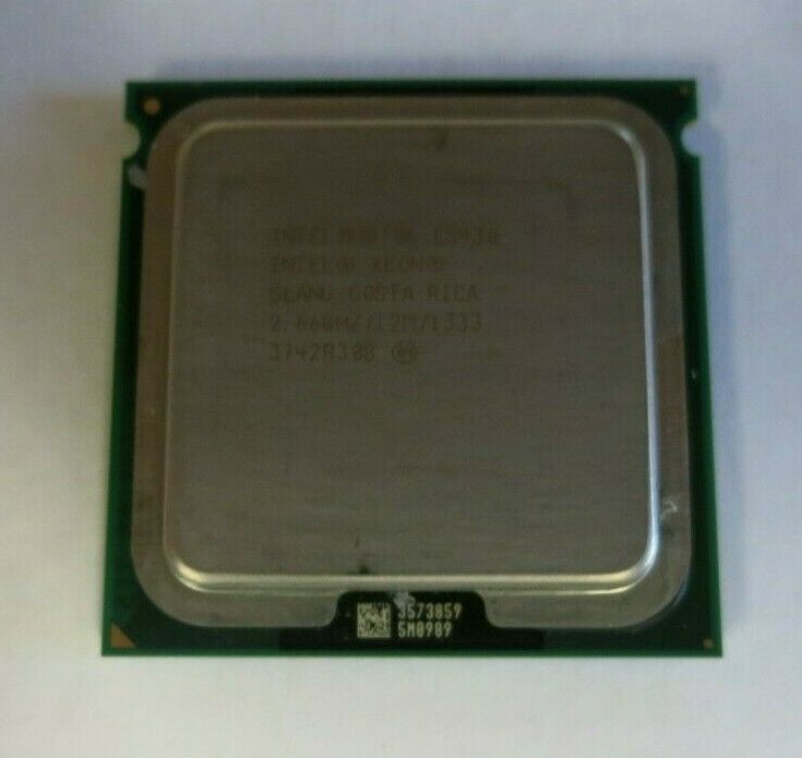 INTEL XEON E5430 SLANU SLBBK 2.66GHZ QUAD CORE CPU PROCESSOR