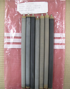 Joblot of 7 Genuine Lexmark Optra S-Series Charge Rollers, P/n 99A0929