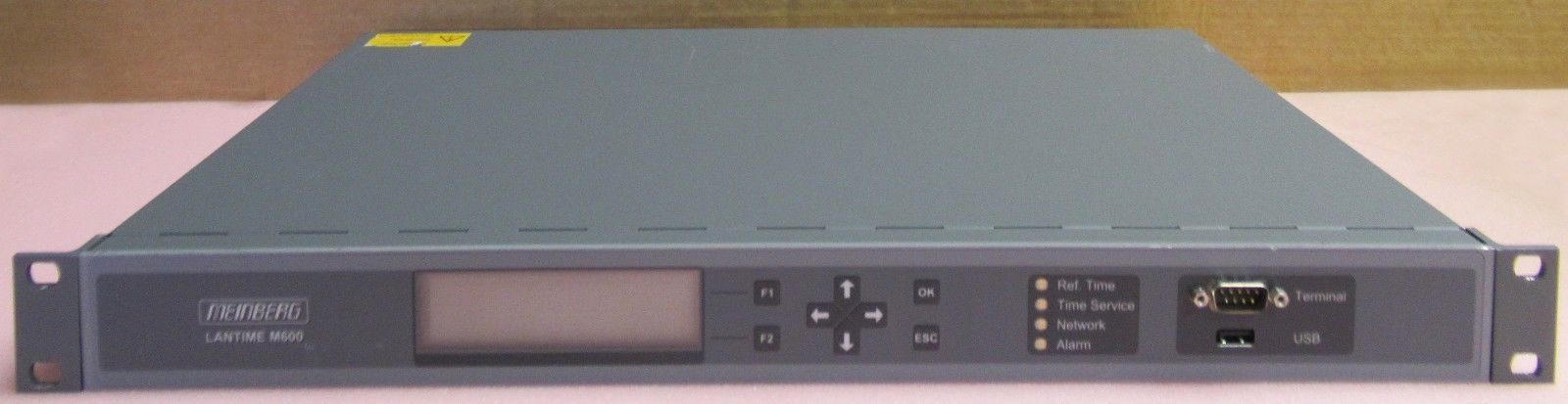 Meinberg LANTIME M600 High End NTP Time Server With