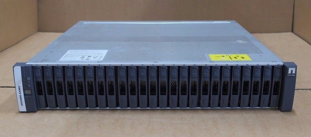 NetApp DS2246 NAJ-1001 Disk Array 2x IOM6 Controller 111-01155 + 24 x caddies