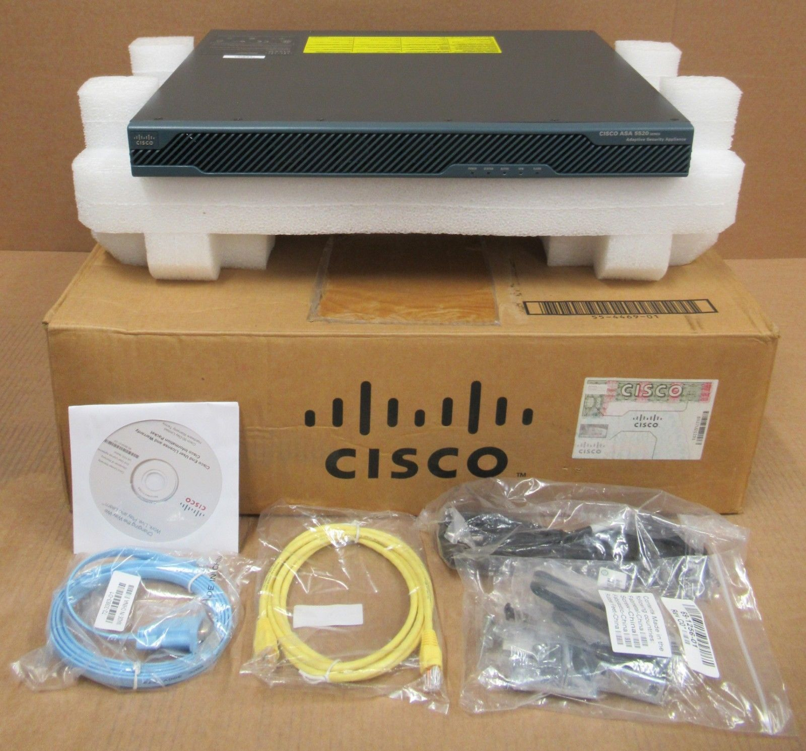 NEW Cisco ASA5520-K8 ASA5520 Adaptive Security Appliance VPN