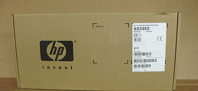 New HP 10PK Carbt 1U Universal Filler Panel Kit P/N: AF072A