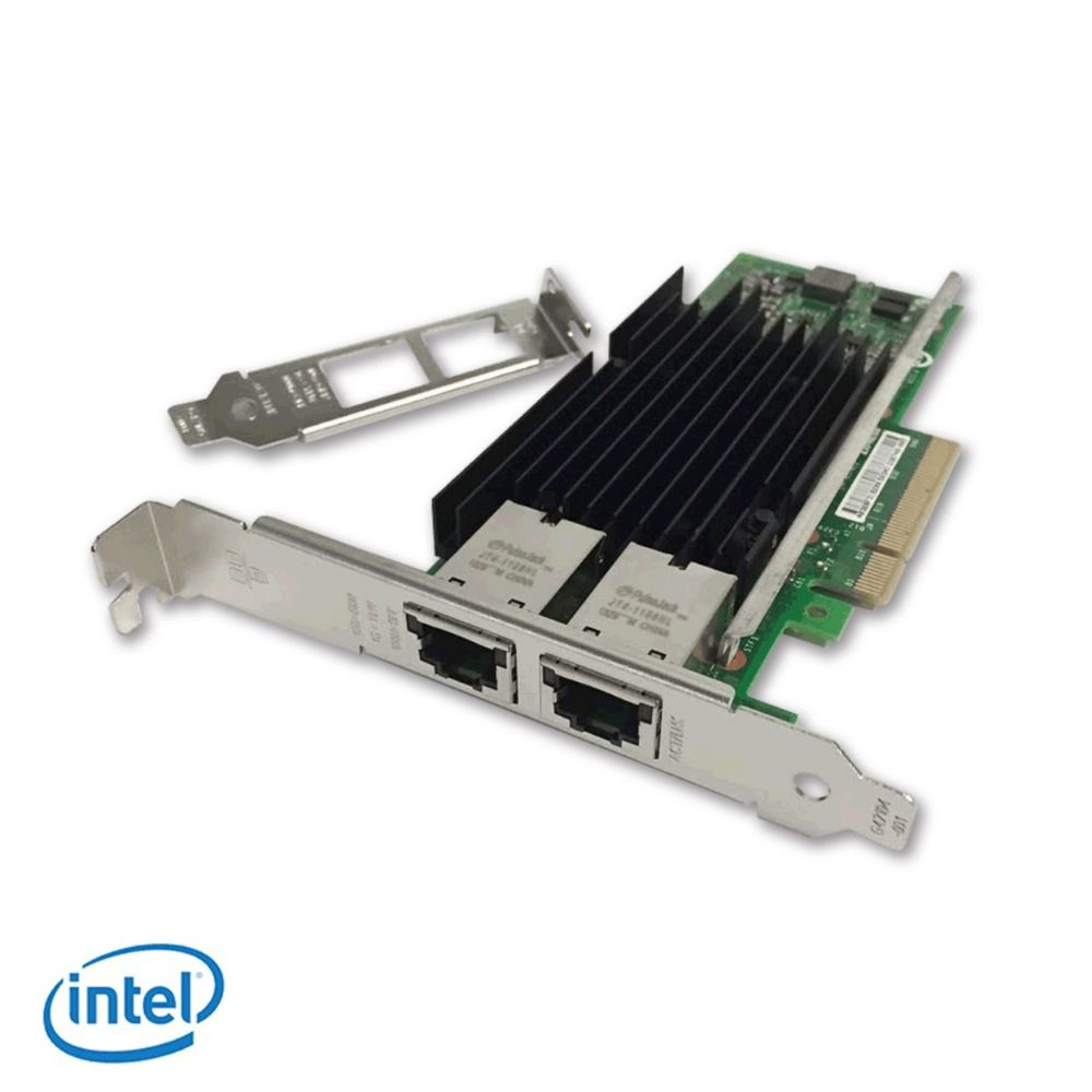 Intel X540-T2 OEM 10G dual RJ45 ports Ethernet Converged Network Adapter