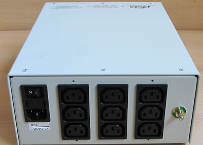 Reo MED1000 Medical Isolating Transformer 9-Outlets 230v1000VA BV65B5088xx