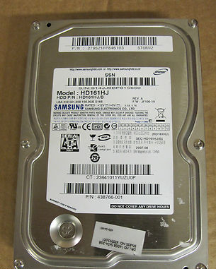 Samsung 160GB HD161HJ 7,200RPM Internal Harddrive SATA