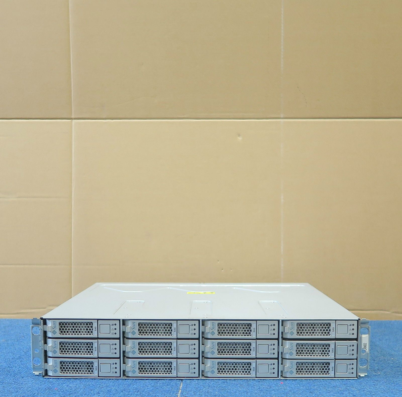 Sun Storage Tek 2540 12 x 450GB 15K SAS 2x Controllers 2x PSU 594-5730-01  Array